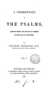 A commentary on the Psalms PDF
