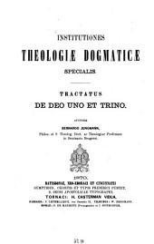 Tractatus de deo uno et trino