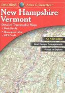 Delorme New Hampshire Vermont Atlas   Gazetteer