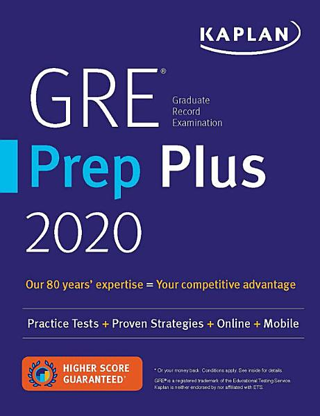 GRE Prep Plus 2020 PDF