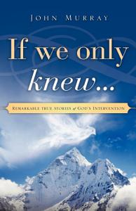 If We Only Knew    Book