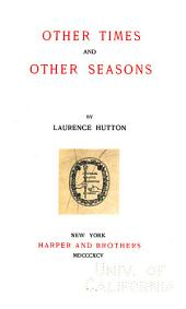 Other Times and Other Seasons