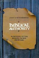 Biblical Authority PDF
