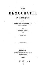 De la democratie en Amerique: Parties2à3