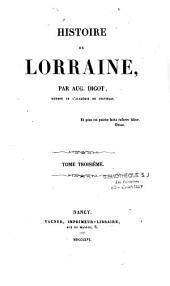 Histoire de Lorraine: Volumes3à4