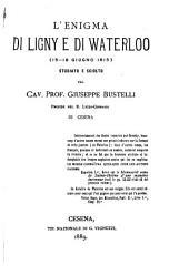 L'Enigma di Ligny e di Waterloo (15-18 Giugno 1815)