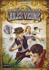La isla perdida: Las aventuras del joven Jules Verne y cia. 1