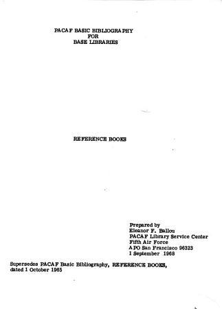 Reference Books PDF