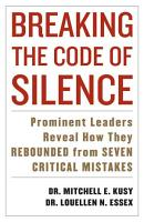 Breaking the Code of Silence PDF