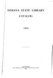 Catalog, 1903