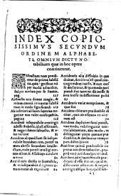 D. Thomae De Ente Et Essentia Libellvs