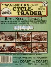 WALNECK'S CLASSIC CYCLE TRADER, SEPTEMBER 1989