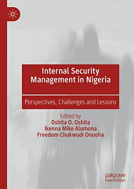 Internal Security Management in Nigeria PDF