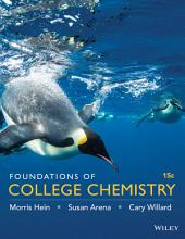 Foundations of College Chemistry, 15th Edition: Edition 15
