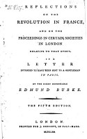 Reflections on the Revolution in France  and on the Proceedings in Certain Societies in London Relative to that Event PDF