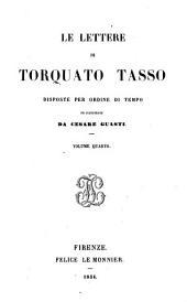 LE LETTERE DI TORQUATO TASSO