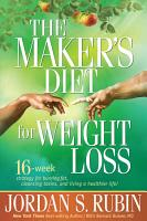 The Maker s Diet for Weight Loss PDF