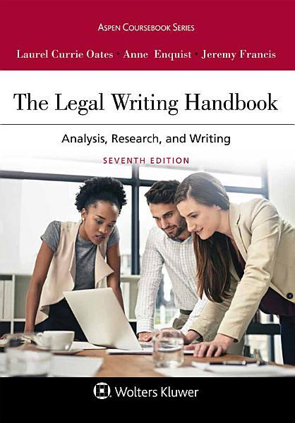 Download The Legal Writing Handbook Book