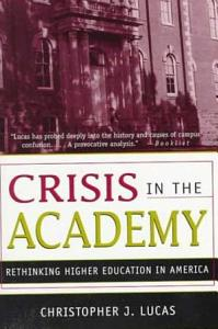 Crisis in the Academy PDF