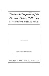 The Growth & Importance of the Cornell Dante Collection