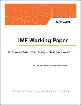 Do Financial Markets Value Quality of Fiscal Governance  PDF