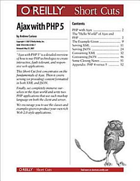 Ajax with PHP 5 PDF