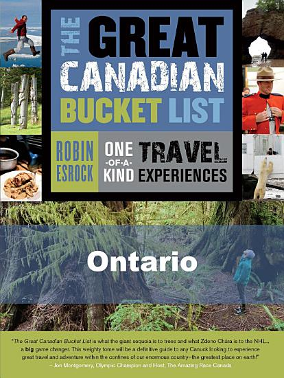 The Great Canadian Bucket List     Ontario PDF