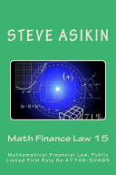 Math Finance Law 15
