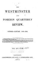 The Westminster and Foreign Quarterly Review