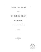 Certain Sand Mounds of the St. John's River, Florida: Part 2