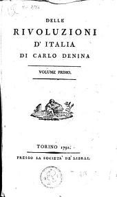 Delle rivoluzioni d'Italia: Volume 1