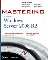 Mastering Microsoft Windows Server 2008 R2 PDF