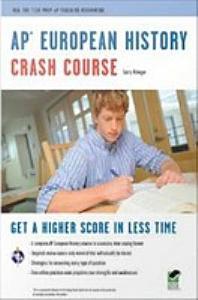 AP European History Crash Course Book