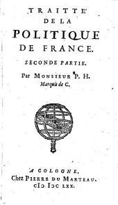 TRAITTÉ DE LA POLITIQUE DE FRANCE.: SECONDE PARTIE, Page2