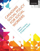 Canadian Social Policy for Social Workers