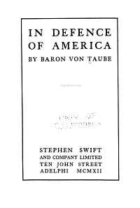 In Defence of America PDF