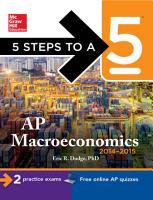 5 Steps to a 5 AP Macroeconomics  2014 2015 Edition PDF