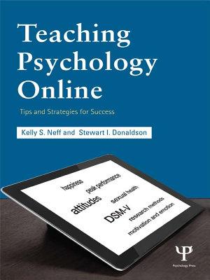Teaching Psychology Online