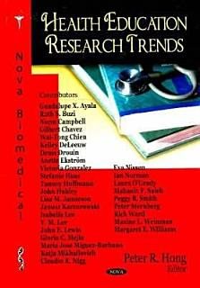 Health Education Research Trends Book