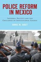 Police Reform in Mexico PDF