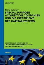 Special Purpose Acquisition Companies und die Ineffizienz des Kapitalsystems PDF
