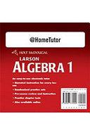 Algebra 1  Grades 9 12 at Home Tutor PDF