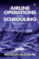 Airline Operations and Scheduling PDF