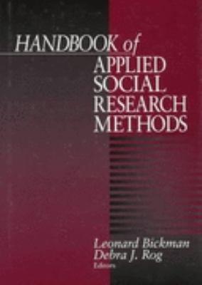 Handbook of Applied Social Research Methods PDF