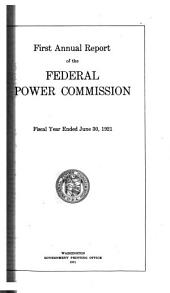 Annual report - Federal Power Commission