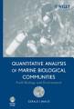 Quantitative Analysis of Marine Biological Communities