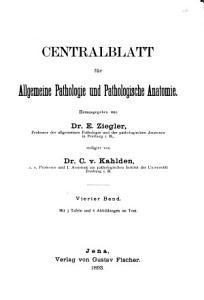 Zentralblatt f  r allgemeine Pathologie und pathologische Anatomie PDF