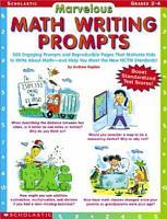 Marvelous Math Writing Prompts PDF