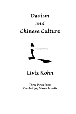 Daoism and Chinese Culture PDF