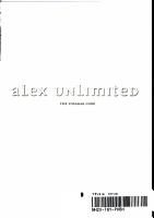 Alex Unlimited Volume 1  The Vosarak Code PDF